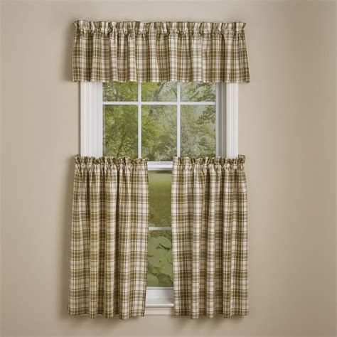 "Cedar Lane Curtain Tiers 72"" x 36"" Park Designs"