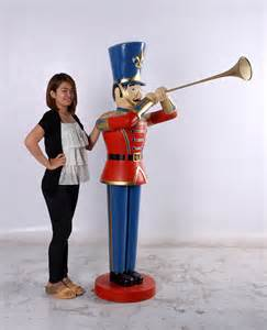 Christmas Toy Soldier Statue