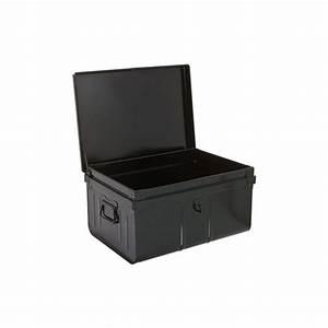 Caisse Metal Rangement : coffre de rangement m tal thisga ~ Teatrodelosmanantiales.com Idées de Décoration
