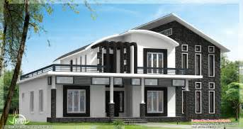 Home Design Gallery - this unique home design can be 3600 sq ft or 2800 sq ft kerala home design and floor plans