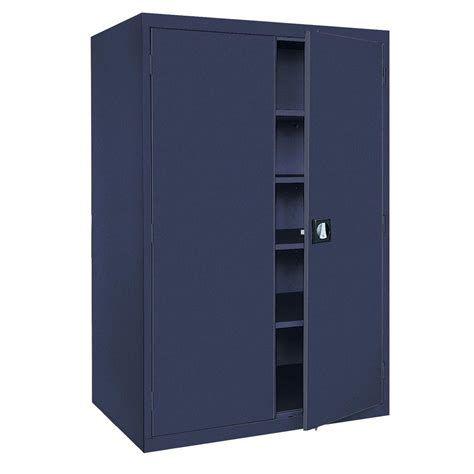 home depot metal cabinets sandusky elite series 72 in h x 36 in w x 18 in d 5