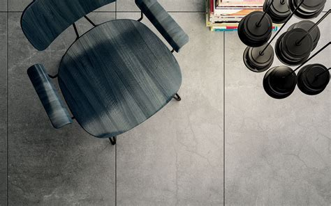 Solid concrete Grey   Floor and Wall Tiles   Iris Ceramica