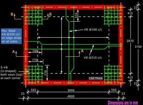Floor Plan Curtailment by Reinforced Concrete Design Chapter 17 Cont 11 Solved
