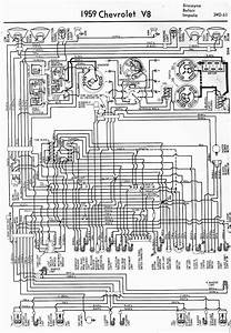 1959 Classic Chevrolet - Large Wiring Diagram