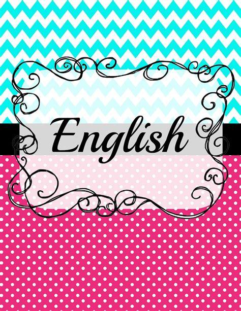 5 Pristine English Binder Cover Kitty Baby Love