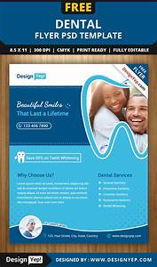 Free Dental Flyer PSD Template - DesignYep