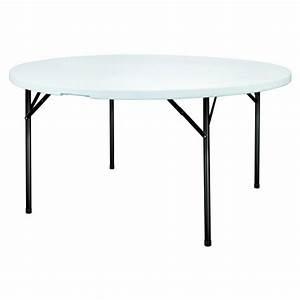Table Pliante Ronde : table pliante et empilable ronde grenade s3o ~ Teatrodelosmanantiales.com Idées de Décoration