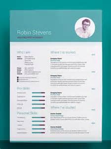 awesome resumecv free 50 awesome resume templates 2016