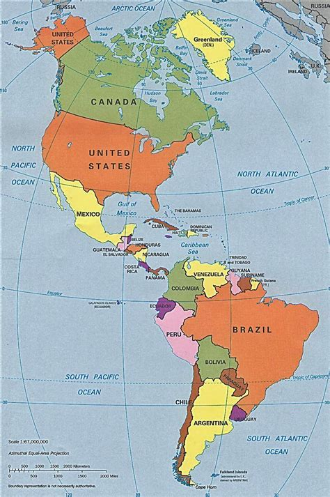 north america south america map roundtripticket me