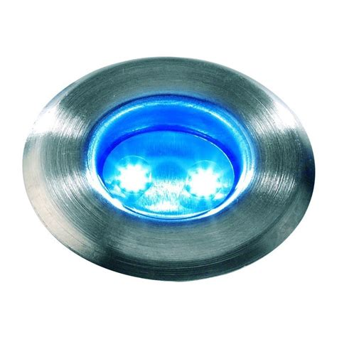 techmar astrum blue 12v led garden deck light