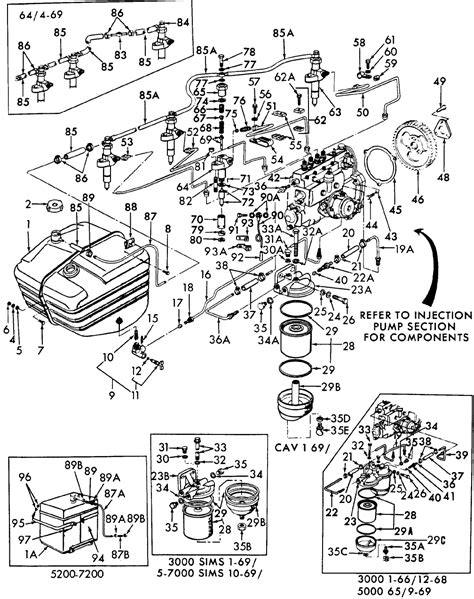 Ford Tractor Injector Diagram by Ford 2000 Tractor Wiring Diagram System For Ford 2000