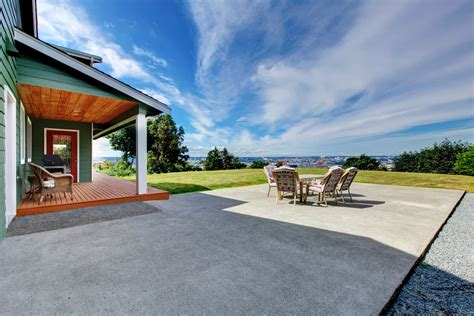 On The Patio by Top 3 Reasons To Choose Concrete As Your Patio Surface