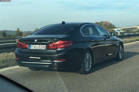 2017 BMW 530d looks imposing on the Autobahn