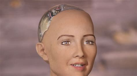 "Watch This Frighteningly Life-like Smart Robot ""joke"