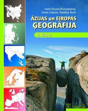 Zvaigzne ABC - Āzijas un Eiropas ģeogrāfija 8. klasei