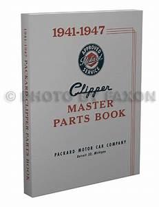 1941 Packard Clipper Repair Manual Set Reprint
