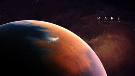 Mars Space Desktop Wallpaper