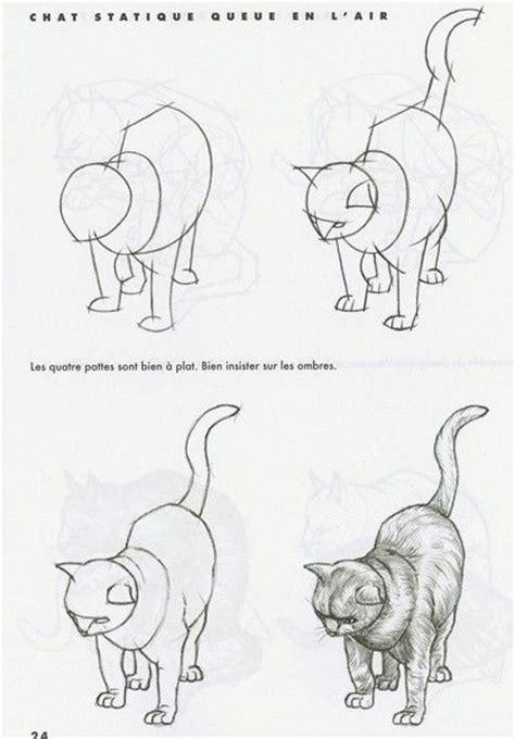 comment dessiner un chat assis 1000 id 233 es sur le th 232 me dessins faciles sur easy drawing tutorial turoriel dessin