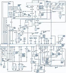 1990 Ford Ranger Radio Wire Diagram