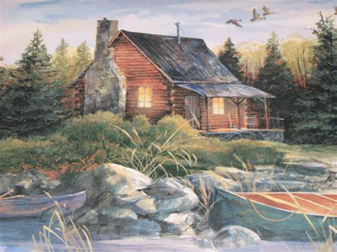 hd log cabin wallpapers pixelstalknet