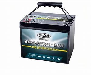 Batterie Agm Camping Car : batterie auxiliaire agm 110ah carbest 330x171x220mm ~ Medecine-chirurgie-esthetiques.com Avis de Voitures