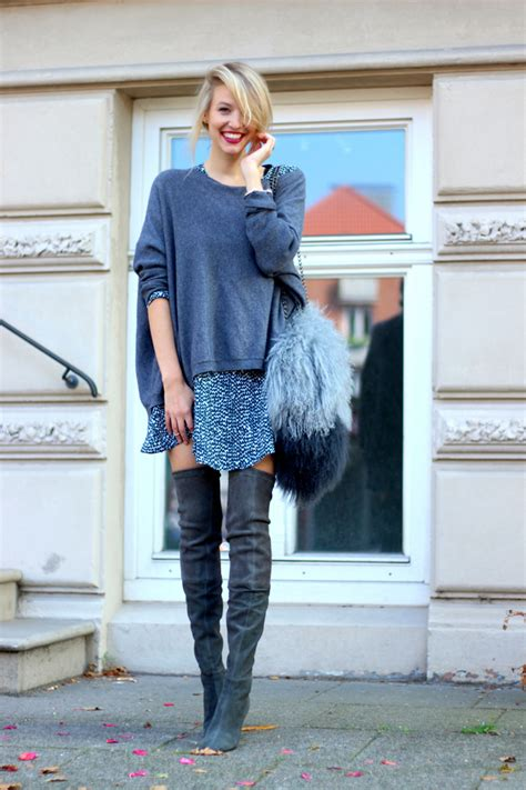 foto de Fall Outfit Ideas With Over The Knee Boots fashionsy com