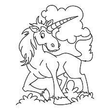 coloriage licorne coloriage enfant pinterest