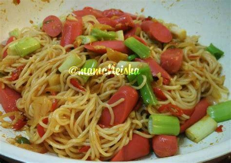 Resep spaghetti lasagna yang top markotop! Resep Spaghetti Bumbu Tumis (mudah & cepat) oleh mamaNeisha - Cookpad