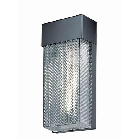 Hton Bay 1 Light Black Outdoor Wall L Hb7023p 05