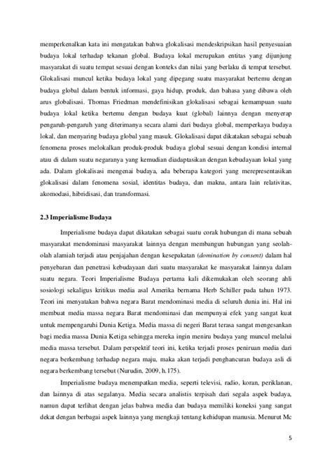 ANCAMAN BUDAYA POP KOREA TERHADAP EKSISTENSI BUDAYA LOKAL