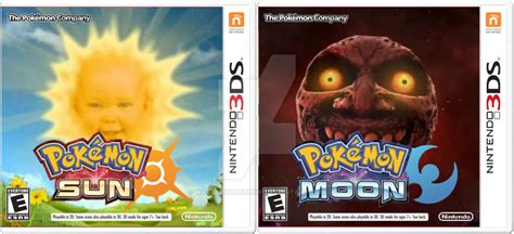 Pokemon Sun And Moon Memes - pokemon sun and moon box art pokemon sun and moon cover parodies know your meme
