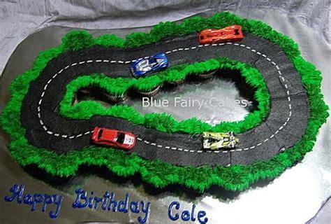 blue fairy cakes racetrack cupcakes