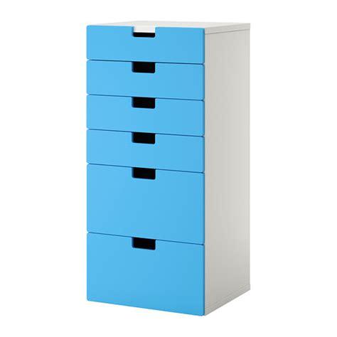stuva storage combination with drawers white blue ikea