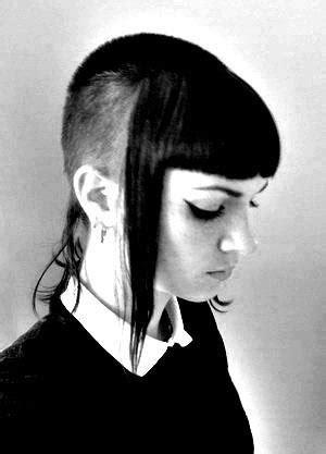 besten sidecut hairstyles bilder auf pinterest