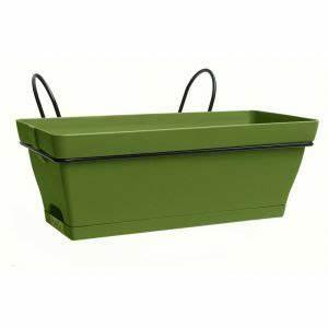 jardiniere gifi jardinire haute verte plastique pot cache With chambre bébé design avec pot de fleur plastique gifi