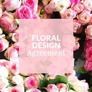 Floral design agreement florists ux ui designer and for Wedding florist contract template