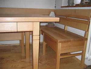 Küchentisch Mit Bank : k chentisch und eckbank aus kernbuche ~ Pilothousefishingboats.com Haus und Dekorationen