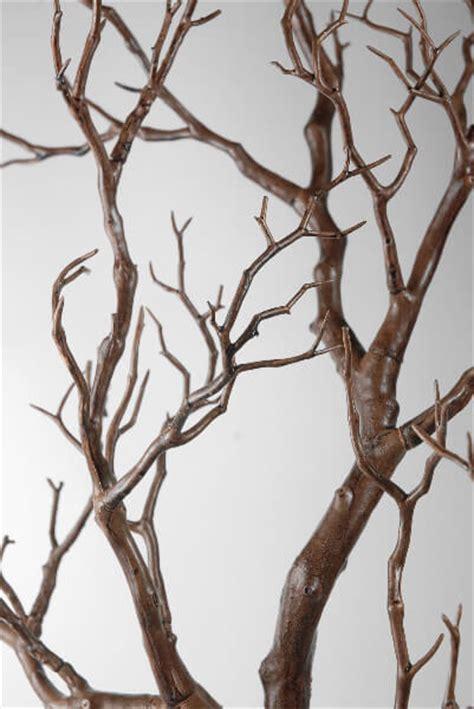 artificial manzanita branches brown 38 5in