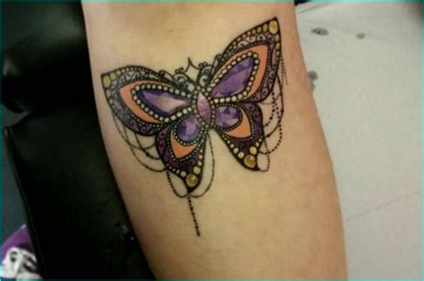 jazzy jewel tattoo design ideas