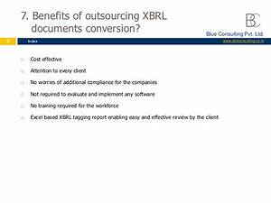 xbrl conversion services in india by blue consulting With xbrl documents