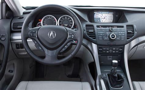 2008 Acura Tsx Interior by 2009 Acura Tsx Drive Motor Trend