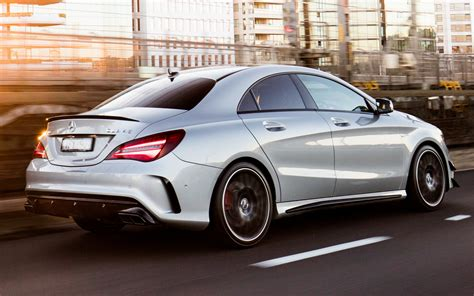 mercedes amg cla  aerodynamics package au