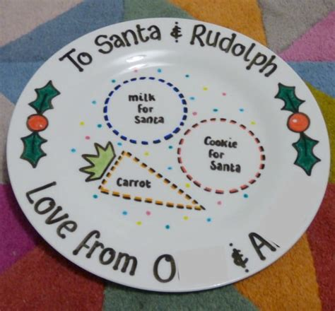Ideas For Halloween Food Names by Christmas Eve Plate By Lovingly Crafted Monkey And Mouse
