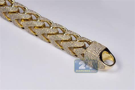Mens Diamond Franco Bracelet 10k Yellow Gold 4311 Ct 410. Evil Eye Diamond. 1 Carat Diamond Anniversary Band. Name Bracelet. 1000 Dollar Wedding Rings. Double Platinum. Jewelry Necklace Chains. 5 Year Anniversary Bands. Vintage Style Lockets