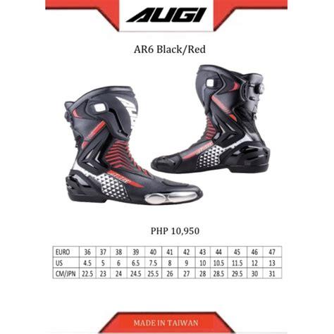 Augi Racing Boots AR-6 | Shopee Philippines