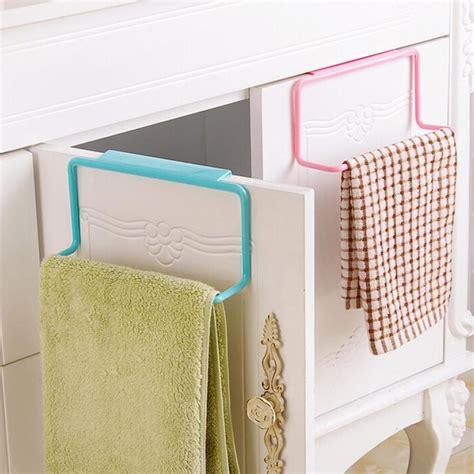 hanging kitchen cabinets images door tea towel rack bar hanging holder rail organizer 4137