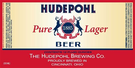 Hudepohl Pure Lager | The Gnarly Gnome