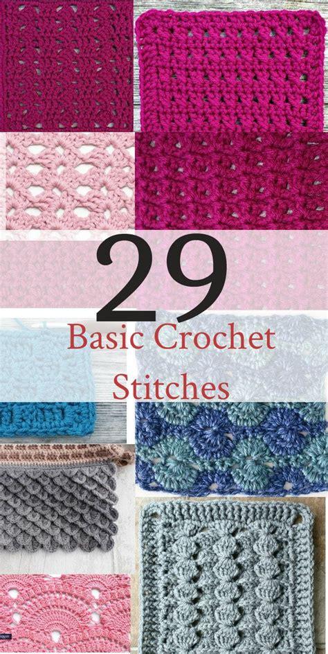 basic crochet stitches 25 best beginner crochet ideas on pinterest