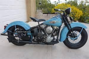 1946 Knucklehead Harley