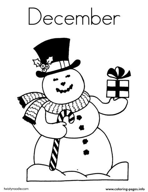 december coloring pages december coloring pages printable